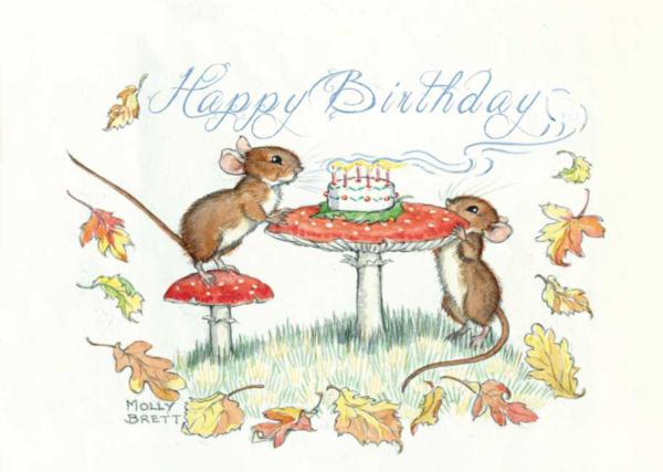 Happy Birthday mice
